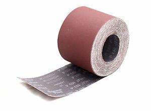 Abracs 25mm x 50m 40,60,80,120,150,180,280 Grit Aluminium Oxide Emery Cloth Roll